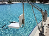 Spectrum Aquatics Motion Trek BP 350 ADA Compliant Pool Lift | Battery Powered