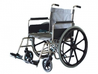 "Aqua Creek Aquatic Folding Wheelchair | 18"" Stainless Steel"