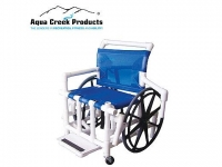 "Aqua Creek Pool Access Chair | 18"" with Mesh Seat"