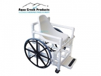 "Aqua Creek Pool Access Chair | 18"" with Plastic Seat"