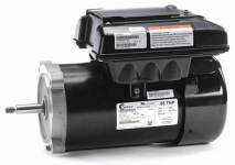 CENTURY VGREEN 085 Variable Speed Motor C-Face Flange .85THP 115V (BLACK)