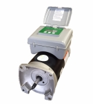 A.O. Smith 1.5 HP 2 Spd Sq. Flange Motor with Integrated Timer, 230V