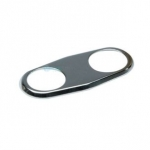 SR Smith Double Escutcheon Plate | 8-420