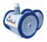 Poolvergnuegen PoolCleaner 4-Wheel Inground Suction Side Cleaner White Blue