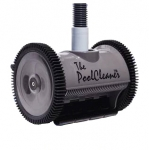 Poolvergnuegen PoolCleaner 2-Wheel Inground Suction Side Cleaner Dark Gray