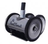 Poolvergnuegen PoolCleaner 4-Wheel Inground Suction Side Cleaner Dark Gray