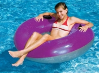 Waterpark Style 36inch Transparent Tube with Handles