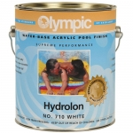 HYDROLON Acryllic Paint for Concrete or Plaster, Black 1 Gal.