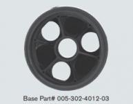 "PARAMOUNT 3 PORT - 2"" VALVE BASE BLACK"