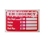 Emergency Phone Location Sign 12inches x 18inches