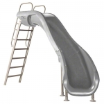 SR Smith Rogue2 Right Turn Pool Slide, Gray