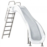 SR Smith Rogue2 Right Turn Pool Slide, White