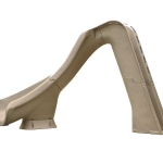 SR Smith Typhoon Left Turn Pool Slide - Sandstone