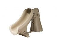 SlideAway Removable In-Ground Pool Slide, Taupe Color