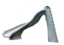 SR Smith Turbo Twister Pool Slide Left Curve Gray Granite