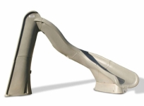 Turbo Twister Right Turn Pool Slide - Sandstone