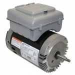 AO Smith 3/4 HP EE 2 Spd. Motor with Built in Timer, 56J Round Frame, 115V