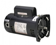 AO Smith 1 HP Motor 56Y Square Frame, 2 Spd. 230V EE
