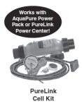 Cell Kit, APURE700, 3-Port with Sensor Unions O-rings and 16' DC cord