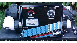 PACK: AP-1400 110/240V, P-1.5HP BL-1HP OZ-120V