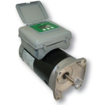 A.O. Smith 2Green .75 HP 2 Spd Sq. Flange Motor with Integrated Timer, 230V
