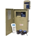 Wireless 5-Circuit Pool/Spa Control System with 80 Amp Breaker Base