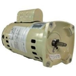 Pentair SuperFlo 2 HP Replacement Motor SQFL, Single Speed, 1 phase, 60 Hz, 230v, almond