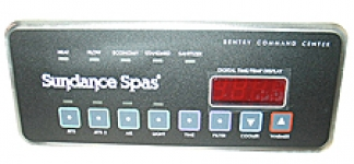 SUNDANCE SPAS 750 CONTROL PANEL 2 PUMP WITH BLOWER TOPSIDE