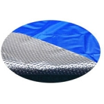 Above Ground 16'x 25' Oval 8-mil Solar Cover