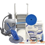 Best Sand Filter Package - Large Pools (Pools over 27')