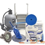 Ultra Sand Filter Package - Large Pools (Pools over 27')