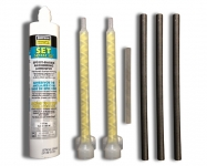 """SR Smith Epoxy Kit  .5"""" Bolts (3) for Flyte Deck II Stand - 75-209-5876-SS"""