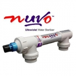 Nuvo Ultraviolet Water Sterilizer For Above Ground Pools 15,000 Gallons