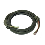 8 ft. whip kit flex conduiit .5 in solid wire #12 4 wires with connectors