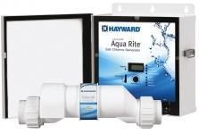 Aqua Rite salt chlorine generator 25K gallons with T-CELL-9
