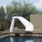 Interfab White Water Slide Left Turn - Gray