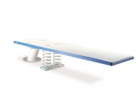Inter-Fab 6' Baja Jump Board Kit with Matching Top Tread and Stainless Steel Hardware Kit   White