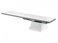 SR Smith Supreme Jump Stand with Frontier lll Board Complete   6' Radiant White
