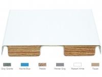 SR Smith 6 ft Fibre-Dive Board Radiant White Matching Tread