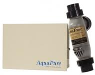 AQUAPURE Salt Chlorine Generator with PLC1400 Cell Kit 40K capacity with Metal Enclosure