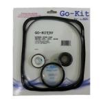 Super Pump GO-KIT3-9 Complete Gasket O-rings Shaft Seals Diffuser LiD Impeller