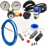 CO2 Kit with Diffuser, Solenoid, Regulator