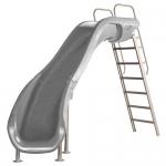 SR Smith Rogue2 Left Turn Pool Slide, Gray
