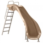 SR Smith Rogue2 Right Turn Pool Slide, Taupe