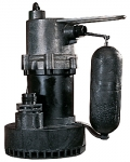 Little Giant Submersible Sump Pump .25 HP 5.5 ASP with 25 ft. power cord 2400 GPH