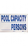SIGN POOL CAPACITY  PERSONS