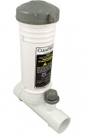 ClearWater In-Line Automatic Chlorinator by Waterway - White model