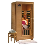 Buena Vista - 1 Person Ceramic HeatWave Infrared Sauna (Free Shipping)