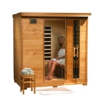 Monticello - 4 Person Infrared Sauna with Carbon Heaters (Free Shipping)