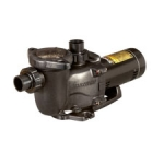 Hayward Max-Flo XL Pump SP2307X102 1HP Dual Speed 230V 1.5in x 2in unions